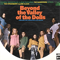 Beyond The Valley Of The Dolls movie soundtrack vinyl LP cover