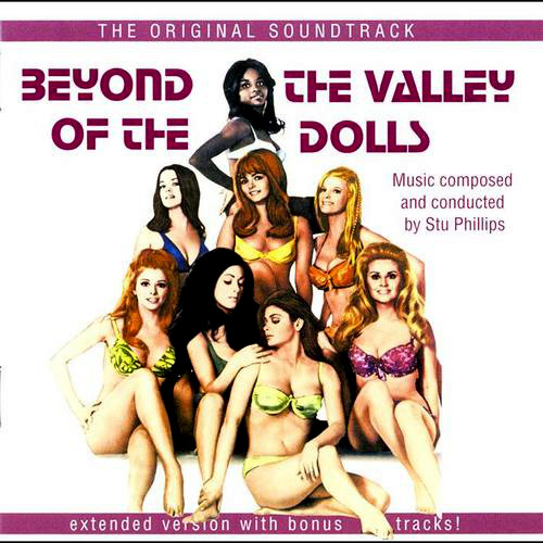 Beyond The Valley Of The Dolls soundtrack CD version.   The original vinyl LP cover art.