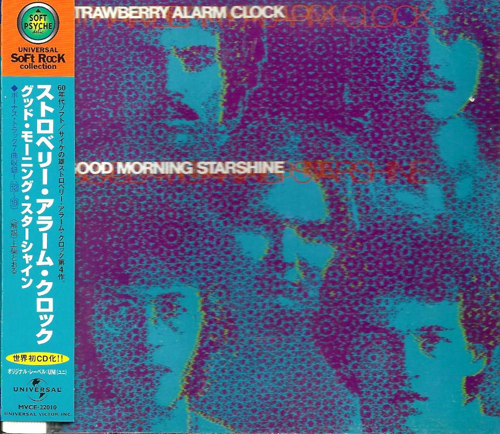 Japanese CD version of Good Morning Starshine (with obi strip)