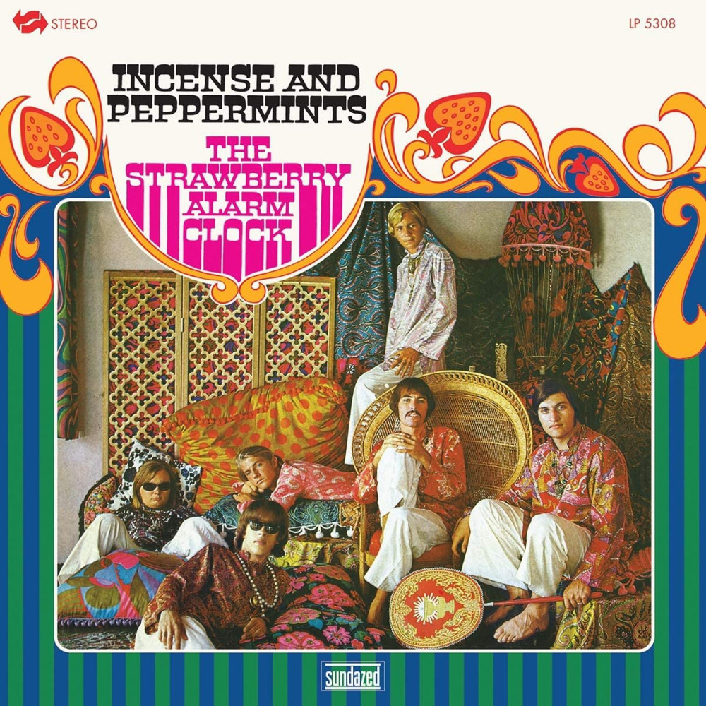 Incense And Peppermints (1967) by Strawberry Alarm Clock album cover