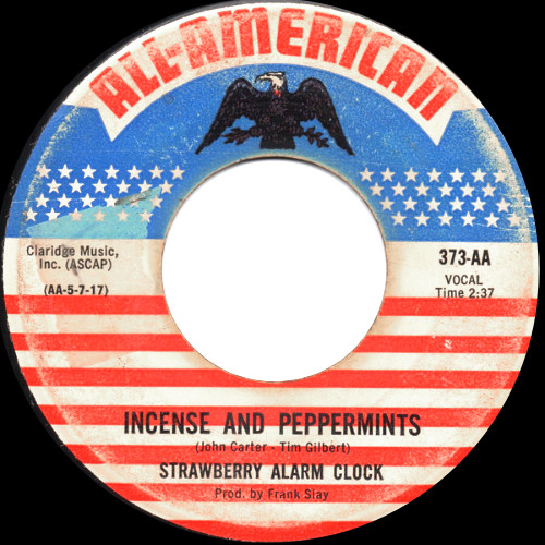 "A version of ""Incense And Peppermints"" on All American."