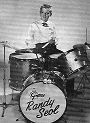 "Randy Seol, Strawberry Alarm Clock's drummer and the man behind ""Nightmare Of Percussion"", in junior high school Source"