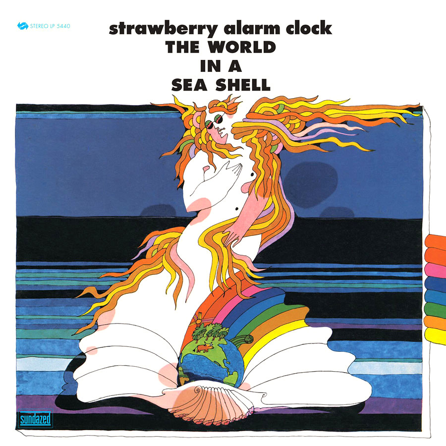 The World In A Sea Shell (1968) by Strawberry Alarm Clock album cover